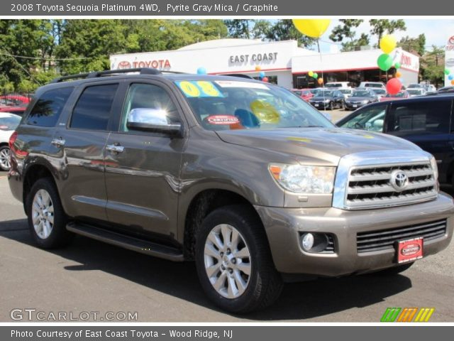 pyrite gray mica 2008 toyota sequoia platinum 4wd. Black Bedroom Furniture Sets. Home Design Ideas