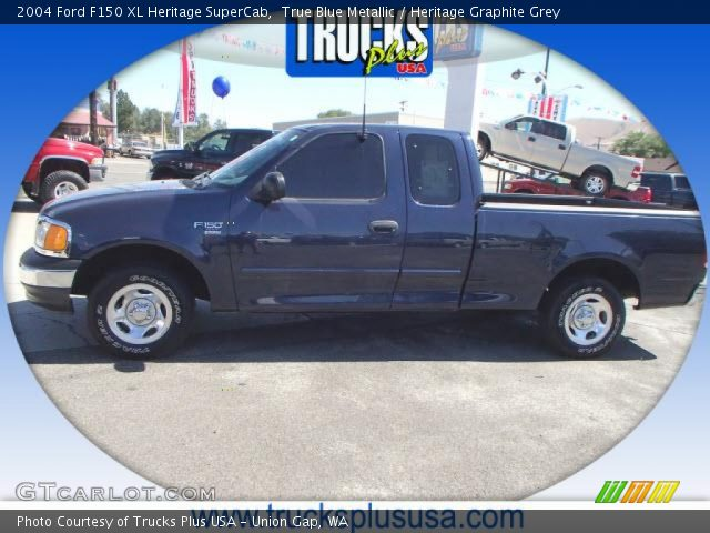 2004 Ford F150 XL Heritage SuperCab in True Blue Metallic
