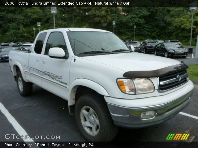 natural white 2000 toyota tundra limited extended cab. Black Bedroom Furniture Sets. Home Design Ideas
