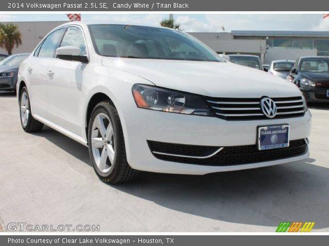 candy white 2014 volkswagen passat 2 5l se titan black. Black Bedroom Furniture Sets. Home Design Ideas