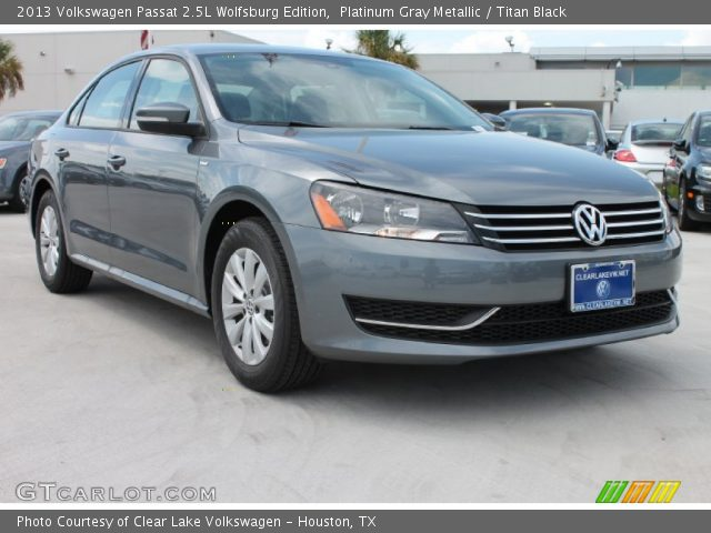 platinum gray metallic 2013 volkswagen passat 2 5l. Black Bedroom Furniture Sets. Home Design Ideas