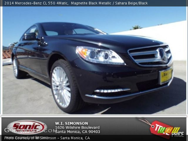 2014 Mercedes-Benz CL 550 4Matic in Magnetite Black Metallic