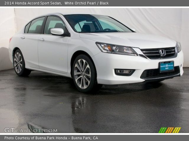 2014 Honda Accord Sport Sedan in White Orchid Pearl