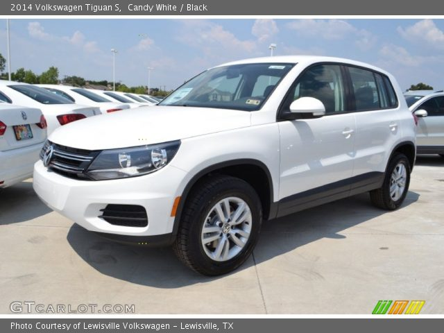 2014 Volkswagen Tiguan S in Candy White  Click to see large photo Volkswagen Tiguan 2014 Black