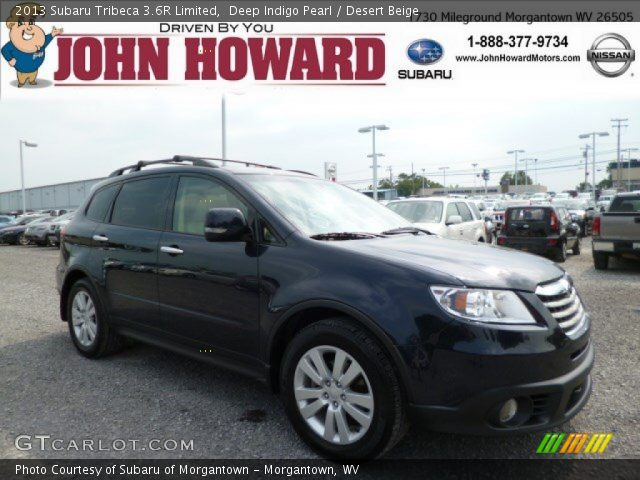 2013 Subaru Tribeca 3.6R Limited in Deep Indigo Pearl