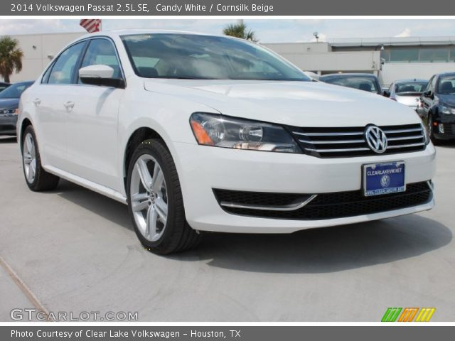 candy white 2014 volkswagen passat 2 5l se cornsilk. Black Bedroom Furniture Sets. Home Design Ideas
