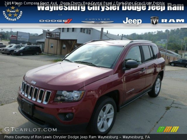 deep cherry red crystal pearl 2014 jeep compass sport. Black Bedroom Furniture Sets. Home Design Ideas