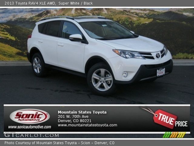2013 Toyota Sienna Xle Awd In Super White Click To See