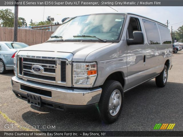 sterling grey metallic 2009 ford e series van e350 super. Black Bedroom Furniture Sets. Home Design Ideas