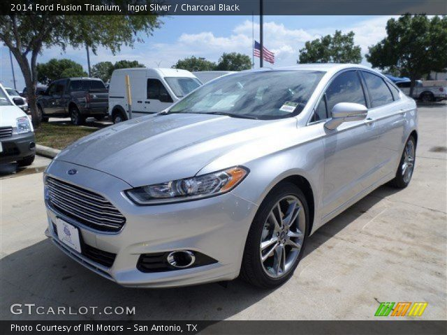 ingot silver 2014 ford fusion titanium charcoal black interior. Cars Review. Best American Auto & Cars Review