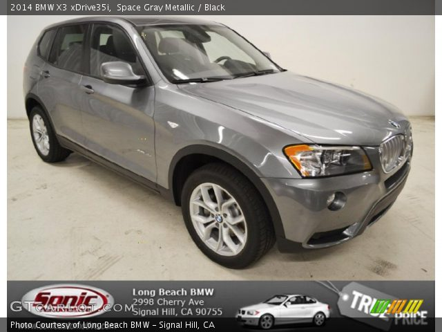 Space Gray Metallic 2014 Bmw X3 Xdrive35i Black Interior Vehicle Archive