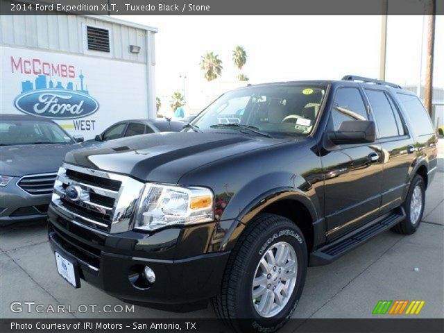 tuxedo black 2014 ford expedition xlt stone interior. Black Bedroom Furniture Sets. Home Design Ideas