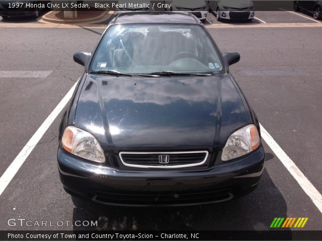 black pearl metallic 1997 honda civic lx sedan gray. Black Bedroom Furniture Sets. Home Design Ideas