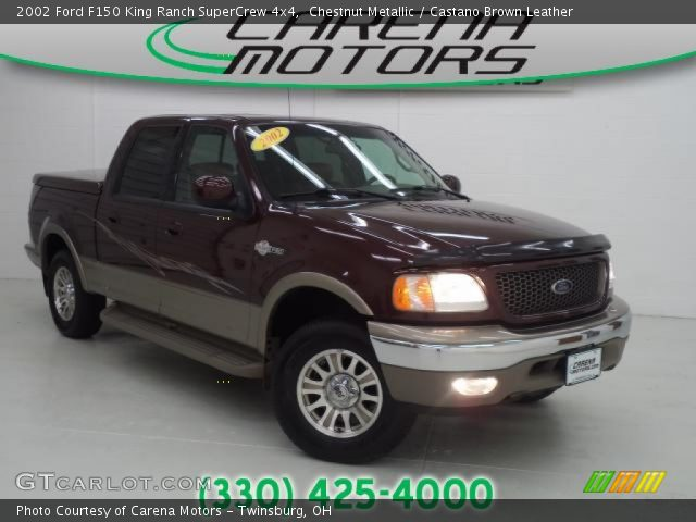 2002 Ford F150 King Ranch SuperCrew 4x4 in Chestnut Metallic