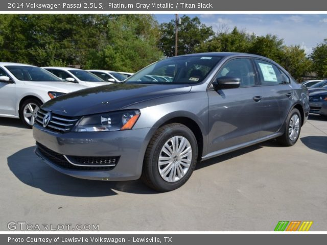 platinum gray metallic 2014 volkswagen passat 2 5l s. Black Bedroom Furniture Sets. Home Design Ideas