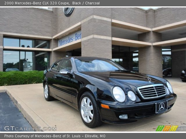 2000 Mercedes-Benz CLK 320 Coupe in Black