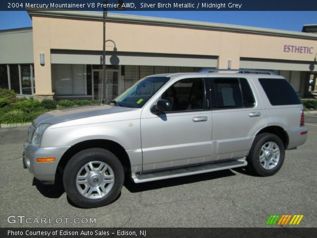 2004 Mercury Mountaineer V8 Premier AWD in Silver Birch Metallic