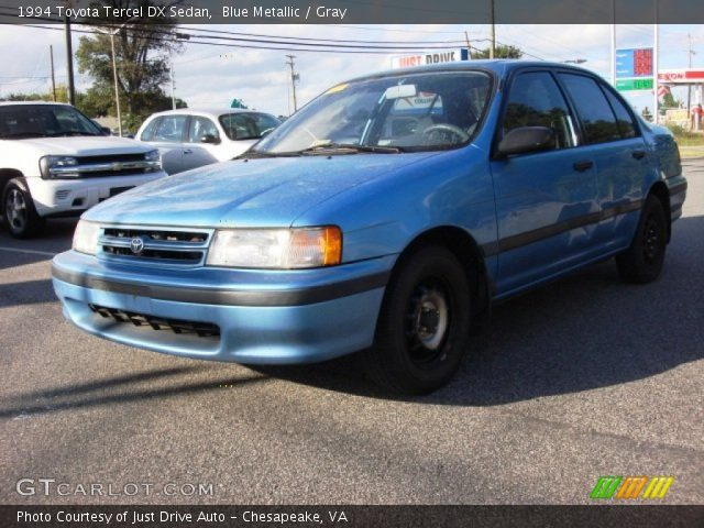 1994 Toyota Tercel DX Sedan in Blue Metallic