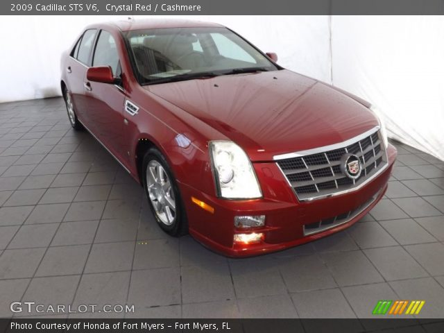 2009 Cadillac STS V6 in Crystal Red
