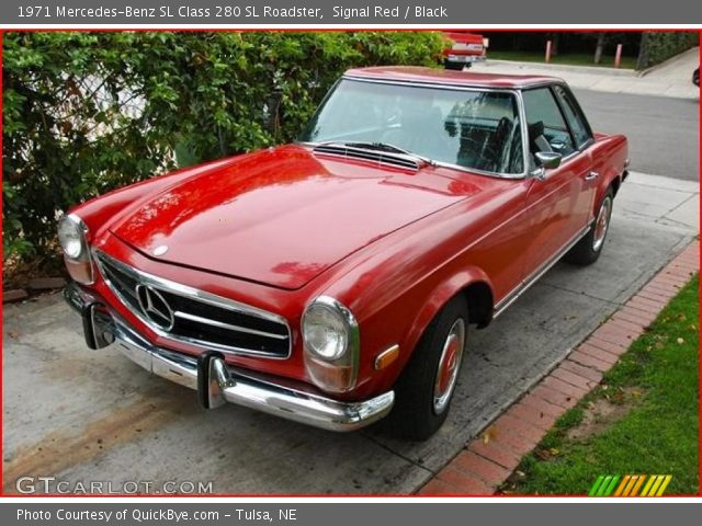 1971 Mercedes-Benz SL Class 280 SL Roadster in Signal Red