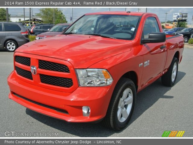 2014 Ram 1500 Express Regular Cab 4x4 in Flame Red