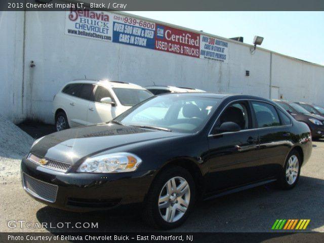 Black 2013 Chevrolet Impala Lt Gray Interior Vehicle Archive 85961464