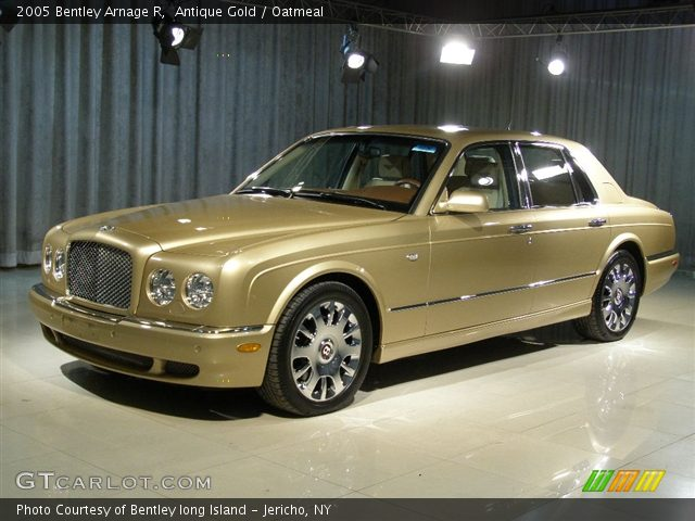antique gold 2005 bentley arnage r oatmeal interior vehicle archive 85615. Black Bedroom Furniture Sets. Home Design Ideas