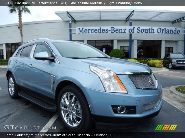2013 Cadillac SRX Performance FWD in Glacier Blue Metallic