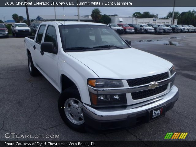 summit white 2006 chevrolet colorado lt crew cab light cashmere interior. Black Bedroom Furniture Sets. Home Design Ideas