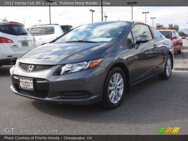 polished metal metallic 2012 honda civic ex l coupe gray interior vehicle. Black Bedroom Furniture Sets. Home Design Ideas