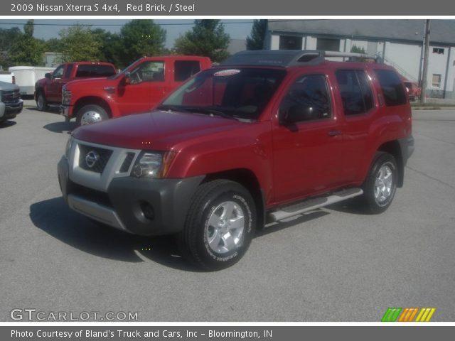 Red Brick 2009 Nissan Xterra S 4x4 Steel Interior Gtcarlot
