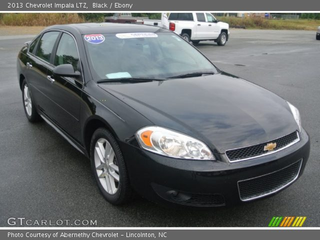 Black 2013 Chevrolet Impala Ltz Ebony Interior