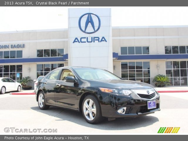 2013 Acura TSX  in Crystal Black Pearl
