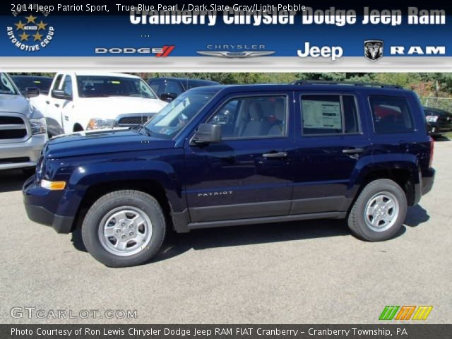 2014 Jeep Patriot Sport in True Blue Pearl