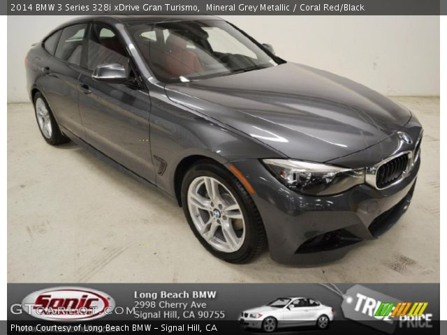 2014 BMW 3 Series 328i xDrive Gran Turismo in Mineral Grey Metallic