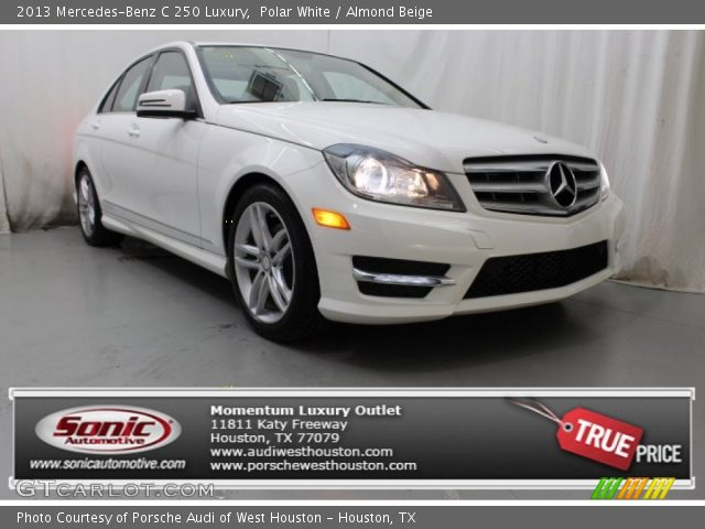 2013 Mercedes-Benz C 250 Luxury in Polar White