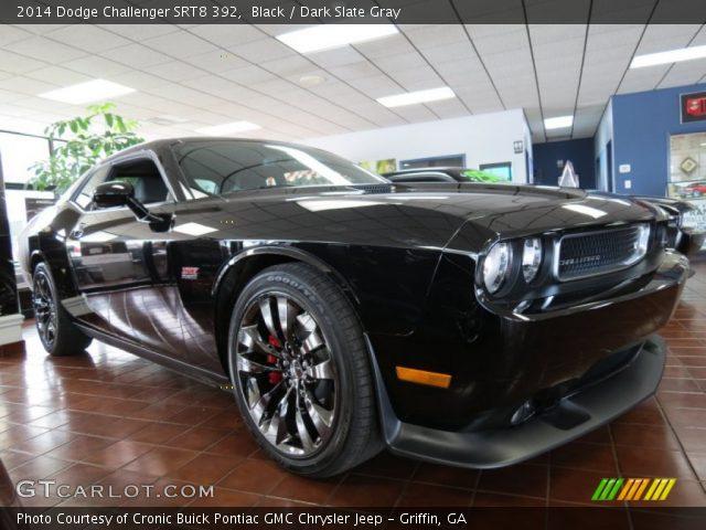 Black - 2014 Dodge Challenger SRT8 392 - Dark Slate Gray ...  Black - 2014 Do...