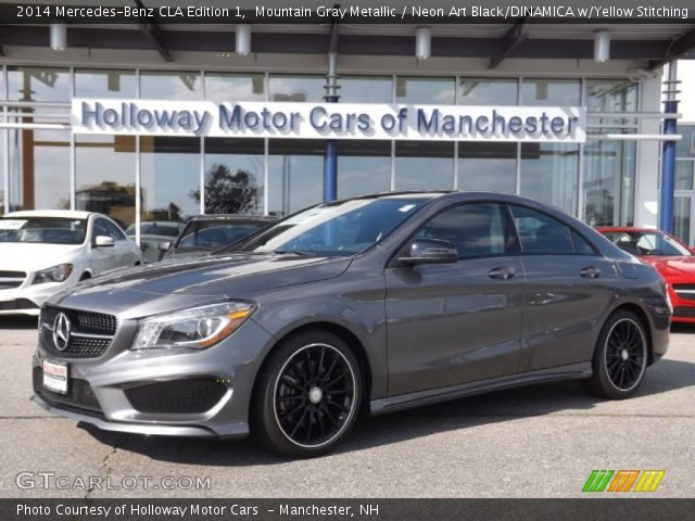 2014 Mercedes-Benz CLA Edition 1 in Mountain Gray Metallic