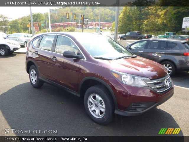 basque red pearl ii 2014 honda cr v lx awd gray interior vehicle archive. Black Bedroom Furniture Sets. Home Design Ideas