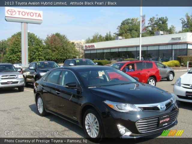 attitude black pearl 2013 toyota avalon hybrid limited black interior. Black Bedroom Furniture Sets. Home Design Ideas