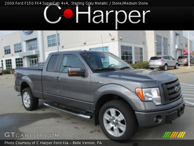 2009 Ford F150 FX4 SuperCab 4x4 in Sterling Grey Metallic