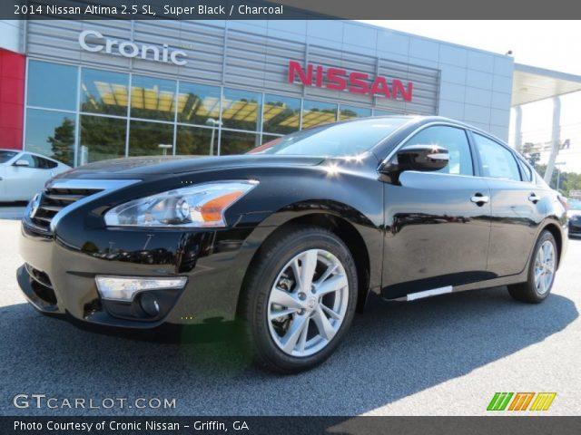 super black 2014 nissan altima 2 5 sl charcoal interior vehicle archive. Black Bedroom Furniture Sets. Home Design Ideas
