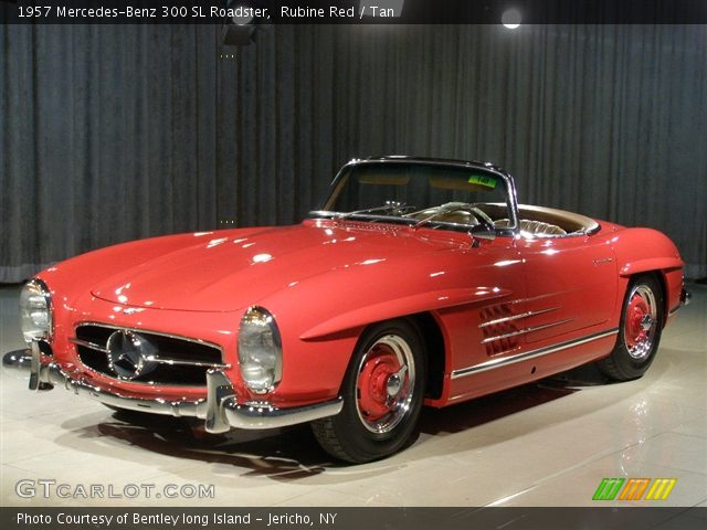 1957 Mercedes-Benz 300 SL Roadster in Rubine Red