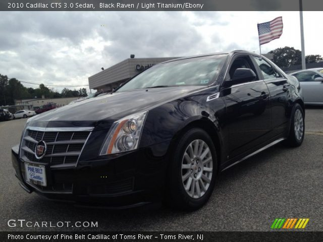 black raven 2010 cadillac cts 3 0 sedan light titanium. Black Bedroom Furniture Sets. Home Design Ideas