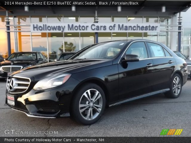 2014 Mercedes-Benz E E250 BlueTEC 4Matic Sedan in Black