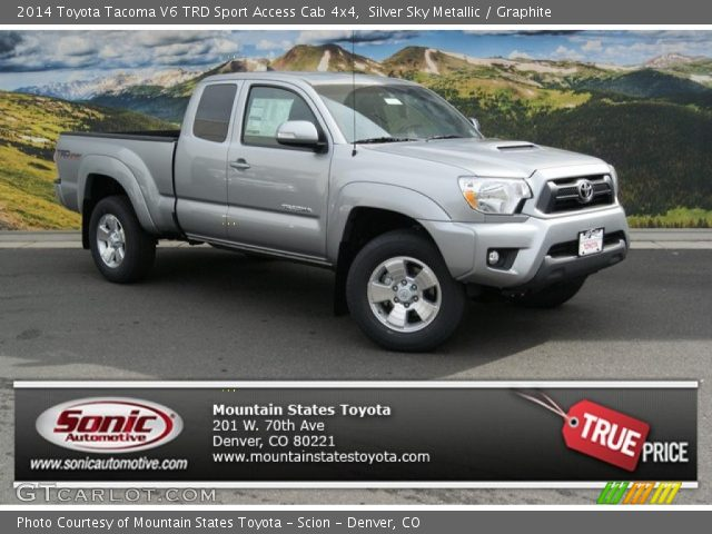 2014 toyota tacoma 4x4 trd access cab autos post. Black Bedroom Furniture Sets. Home Design Ideas