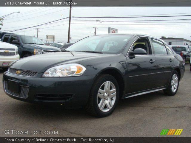 Black 2013 Chevrolet Impala Lt Ebony Interior Vehicle Archive 86724924