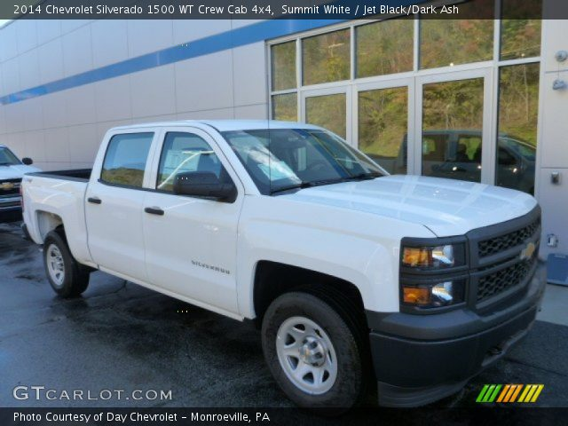 2014 Chevrolet Silverado 1500 WT Crew Cab 4x4 in Summit White