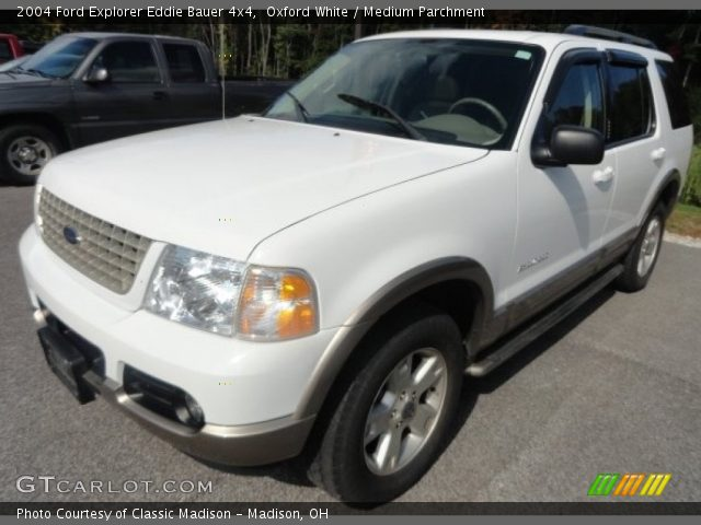 Oxford White - 2004 Ford Explorer Eddie Bauer 4x4