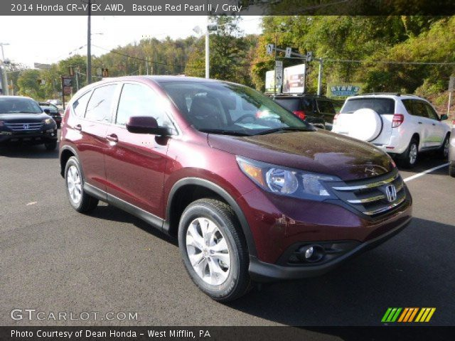 basque red pearl ii 2014 honda crv ex awd gray